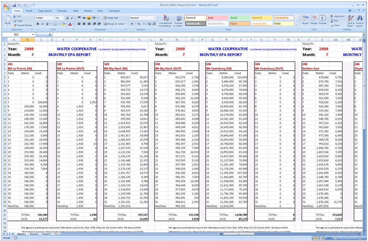 how to create an automated report in excel
