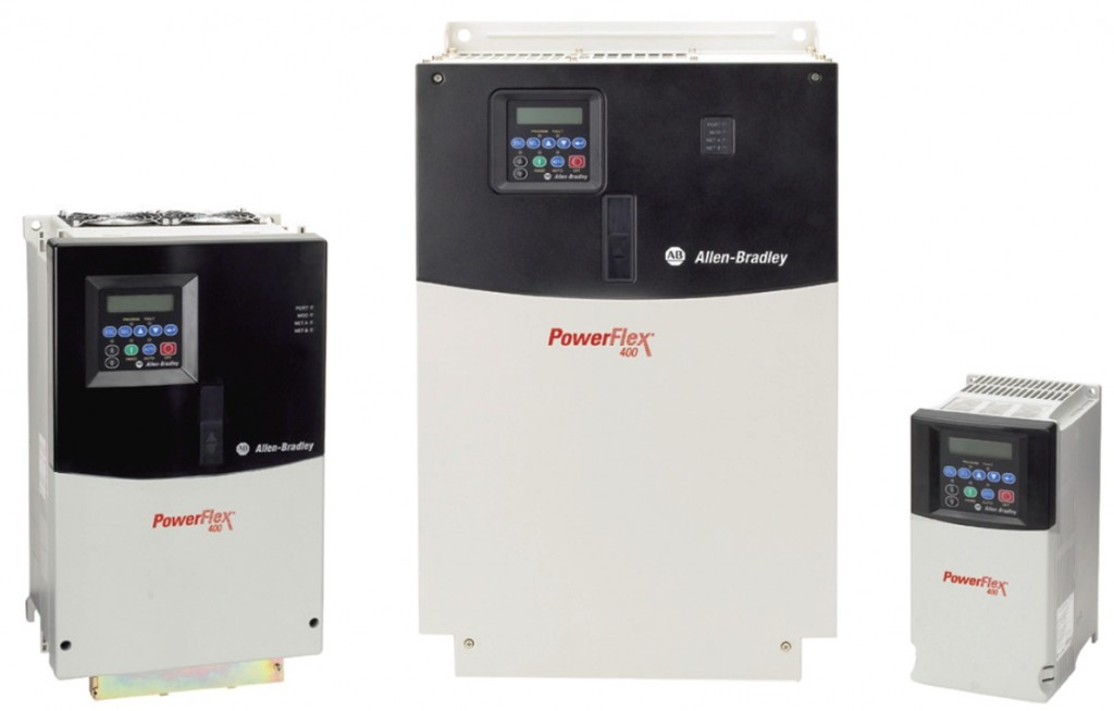 Rockwell Automation / Allen Bradley PowerFlex® Variable Frequency Drive Family