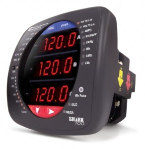 Shark 100 Power Meter, by Electro Industries/GaugeTech
