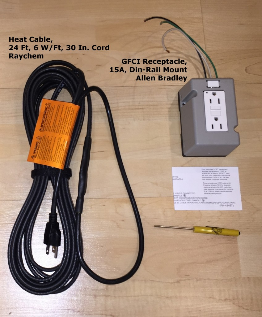 Actively-Powered Heat Kit for Below-Grade Transducer Pits.