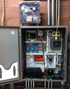 Example Control Panel Containing a Sensaphone 400.