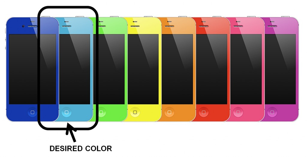 Case Color Selection