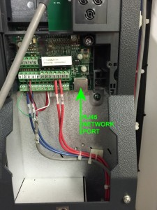 VFD Network Interface Port
