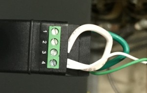 RJ45-Terminal Block Adapter - Top View