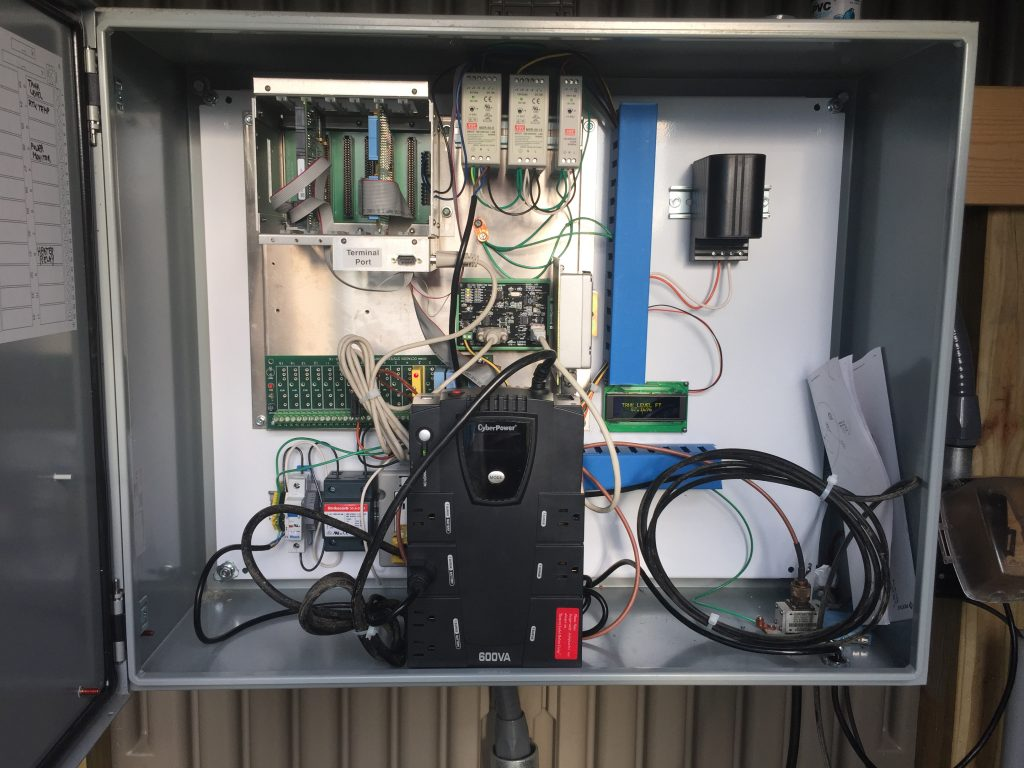 Re-Built Telemetry & Control Panel at Walnut Hill Water District (IL)